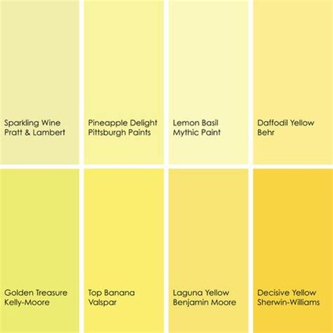 behr paint colors bright yellow shades of yellow paint colors 2