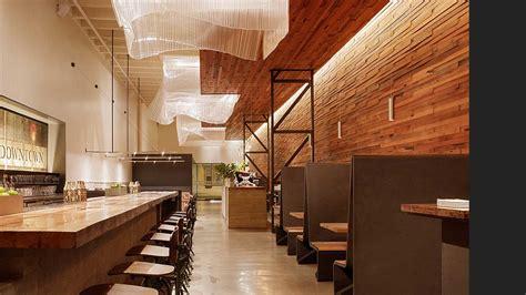 woodwork restaurant bar agricole aidlin design dzn world