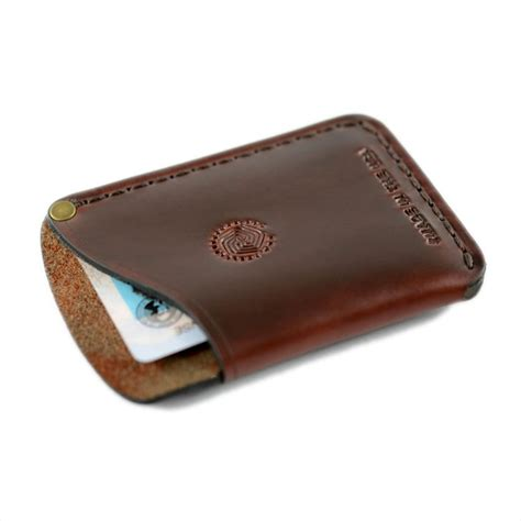 how to make a card wallet card holder wallet espresso