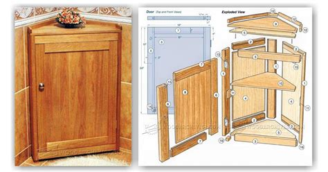 corner cabinet woodworking plans corner cabinet plans woodarchivist