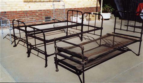 vintage hospital bed frame antiques collectables cast iron beds scottish