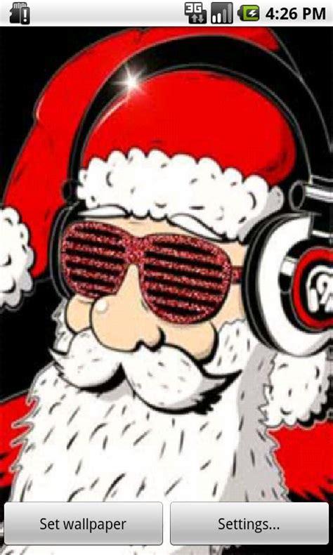 musical santas santa live wallpaper free app android
