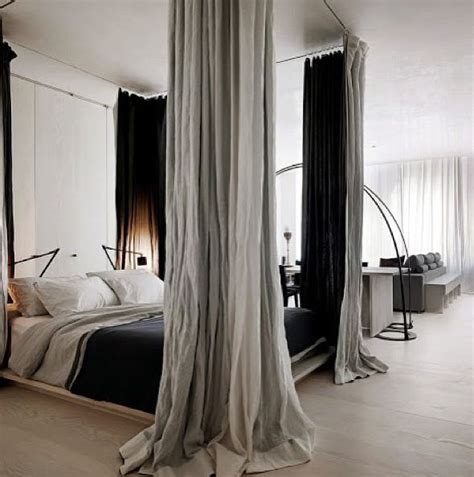 four poster bed with curtains four poster bed using curtain rods and curtains