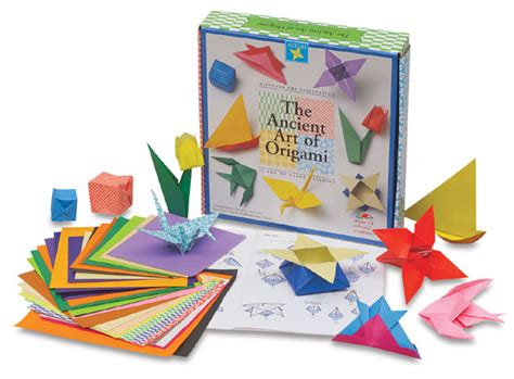 origami kit the ancient of origami kit blick materials