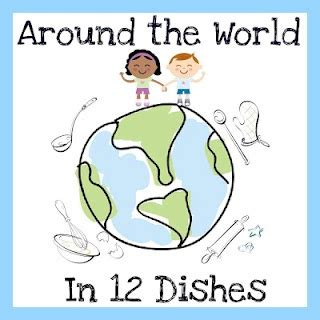 craft for nursery around the world in 12 dishes kid s activities
