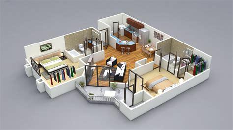 two bedroom design 2 bedroom house plans designs 3d artdreamshome