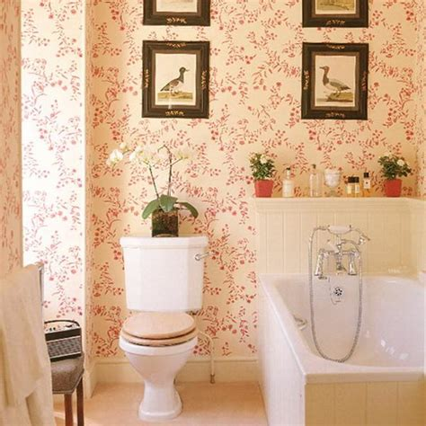 bathroom wallpaper modern modern bathroom design and decorating with wallpaper