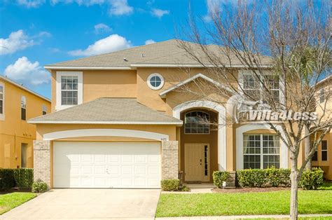 five bedroom house 5 bedroom homes condos for rent in emerald island near disney