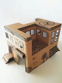 cardboard box crafts for best 25 cardboard box crafts ideas on
