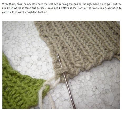 how to do mattress stitch in knitting mattress stitch on ribbing 183 how to knit 183 yarncraft on