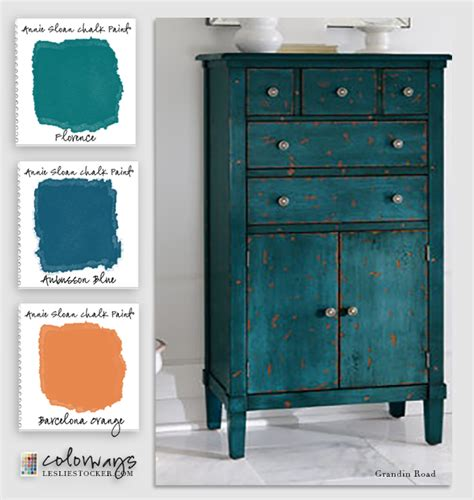 chalk paint vs eggshell sloan blues greens colorways with leslie stocker