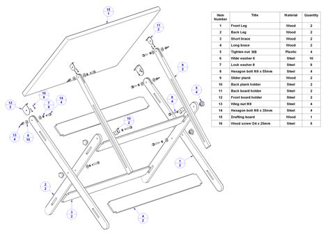 drafting table plans free how to build drafting table plans diy pdf plans