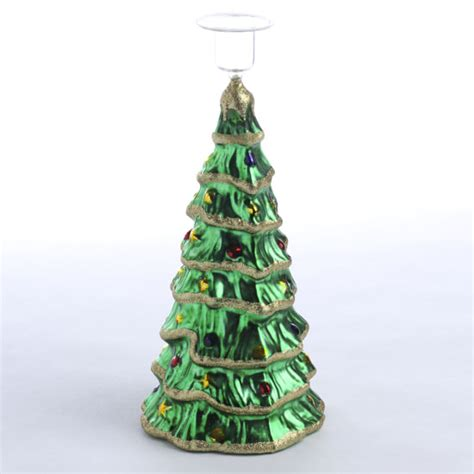 tree glass glass tree candle holder candles and