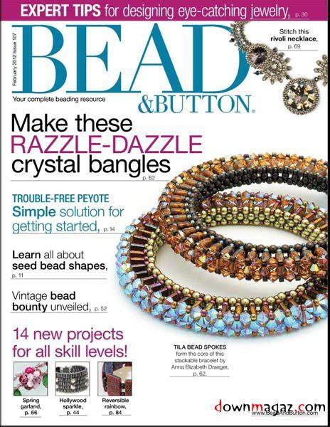 bead button free patterns bead button no 107 february 2012 187 pdf