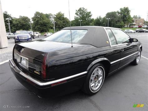 2002 Cadillac Eldorado by Black 2002 Cadillac Eldorado Esc Exterior Photo