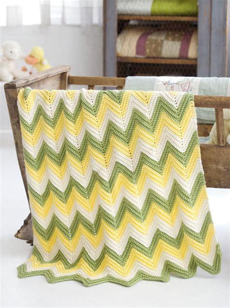 zig zag baby blanket knitting pattern crochet patterns galore zig zag baby blanket