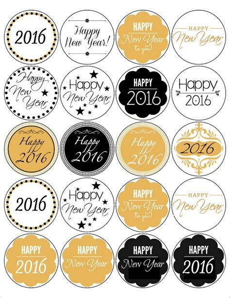 free printable new year labels free printable the bearfoot baker
