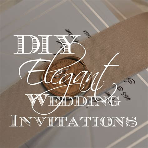 diy rubber st diy wedding invitations wedding invitation ideas