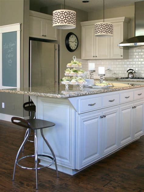 kitchen island cupboards customize your kitchen with a painted island hgtv