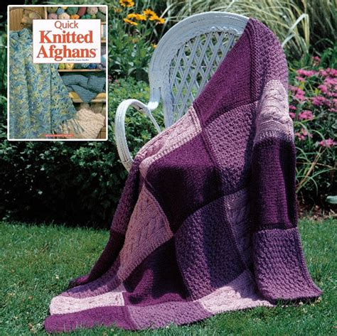 knit quilt patterns knitted afghan for a bridal shower two crafting