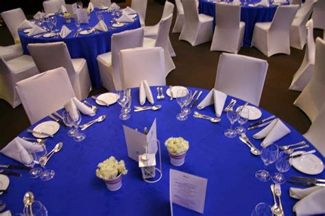 royal blue and silver centerpieces royal blue silver white wedding decorations http