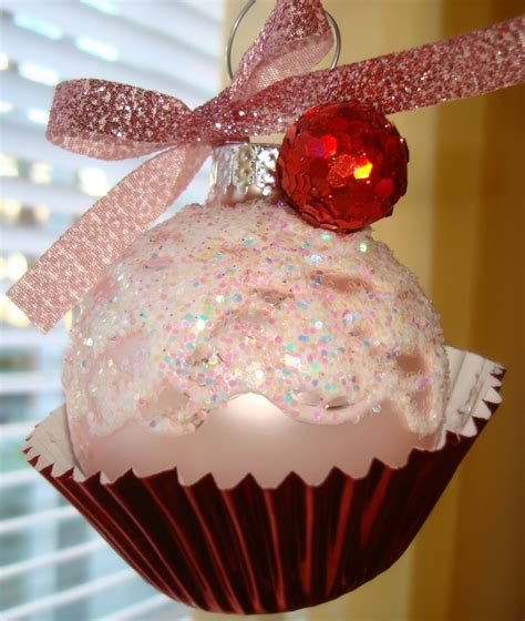 ornament cupcakes bentleyblonde cupcake ornament diy