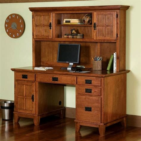 mission style computer desk with hutch office furniture mission furniture craftsman furniture