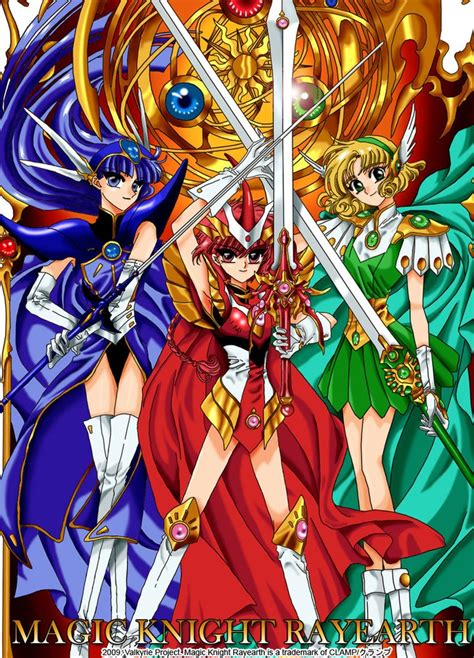 magic rayearth magic rayearth anime
