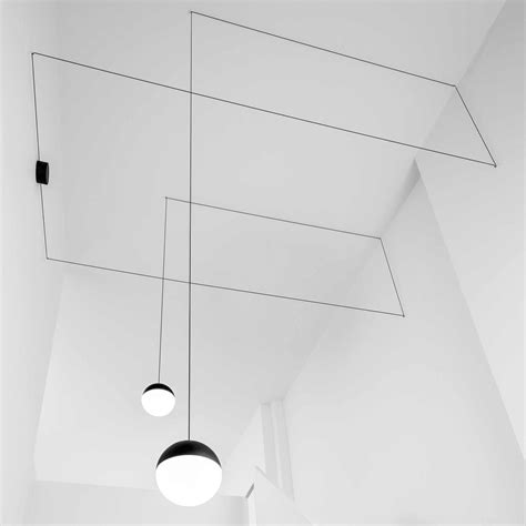 flos pendant lights string light spherical pendant l