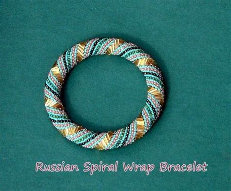 bugle bead patterns baubles and bracelets russian spiral wraparound