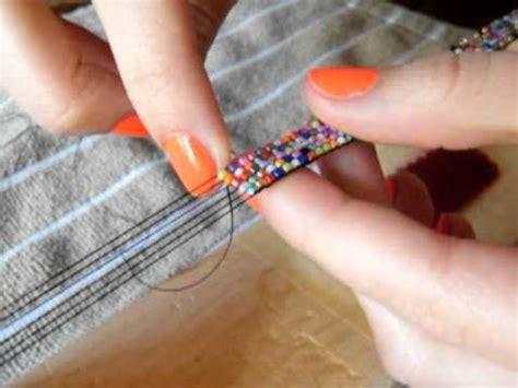 how to make beaded bracelets on a loom a bead loom bracelet