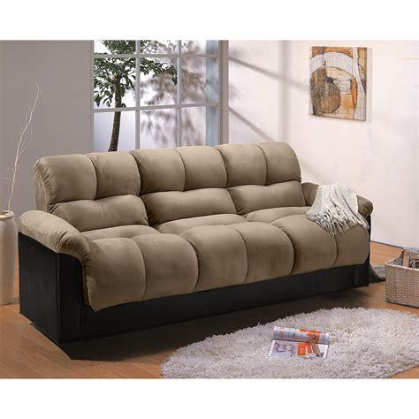 fulton sofa bed ara futon sofa bed with storage hazelnut value city