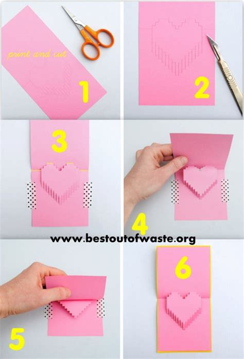 how to make shaped cards 5 diy ideas for on s day 171 showcase