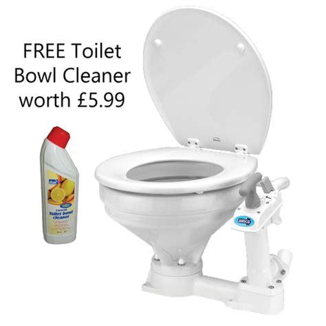 Jabsco Toilet Cleaner by Jabsco Regular Bowl Manual Twist N Lock Toilet