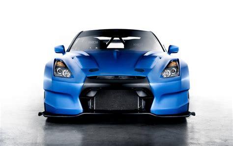 Car Wallpaper Blue by Nissan Gt R Blue Car Wallpaper 1920x1200 17556