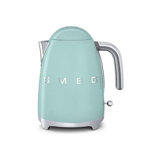 Pink Retro Kitchen Collection smeg kettle west elm