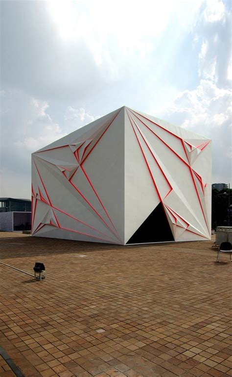 building origami 15 spectacular buildings where origami meets architecture