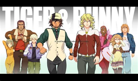 tiger and bunny tiger bunny anime update jefusion
