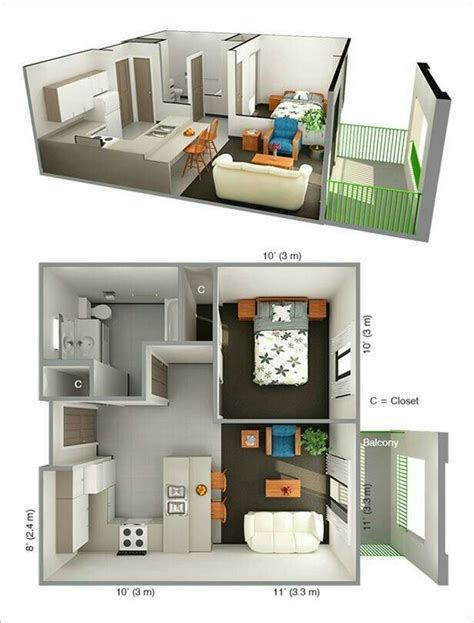 one bedroom apartment designs 17 best images about planos casa home plans on