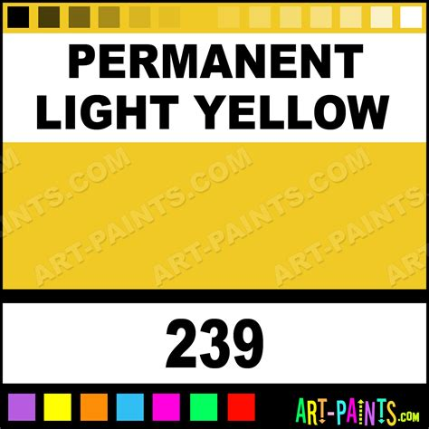 permanent light permanent light yellow pebeo watercolor paints 239