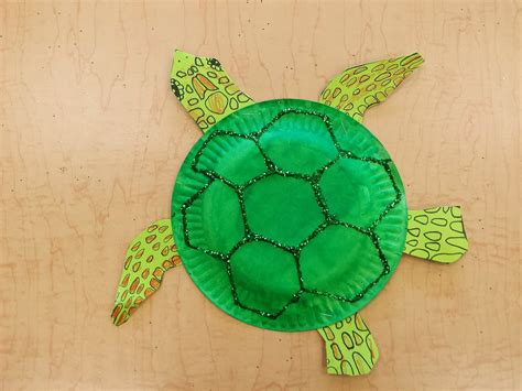 turtle paper craft colors and kindergarten april 2014