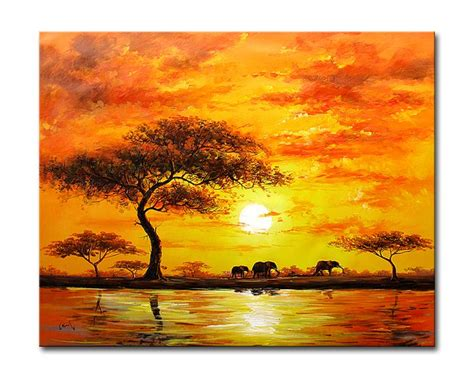 spray painting in kzn sunset paintings other artwork modern