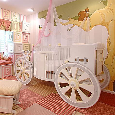 Fantasy Carriage Crib and Nursery Necessities in Interior Design Guide : All Baby Cribs at PoshTots
