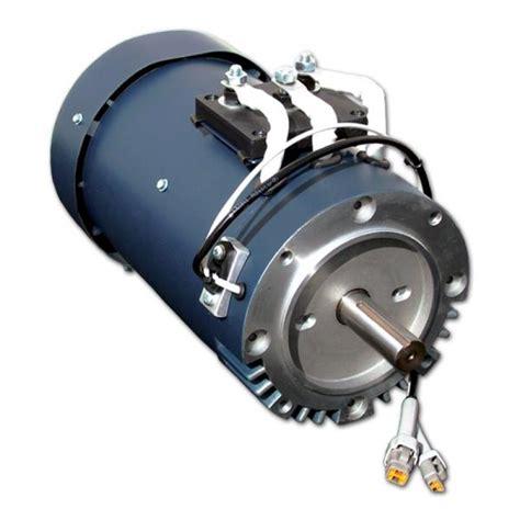 Ac Electric Car Motor by Curtis 1238 6501 Hpevs Ac 20 Brushless Ac Motor Kit 72