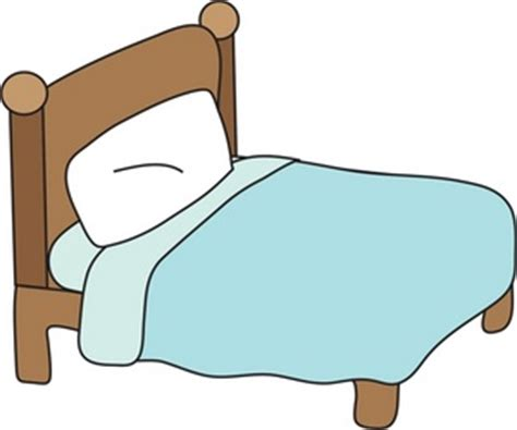 bed clipart image clipart illustration of a bed