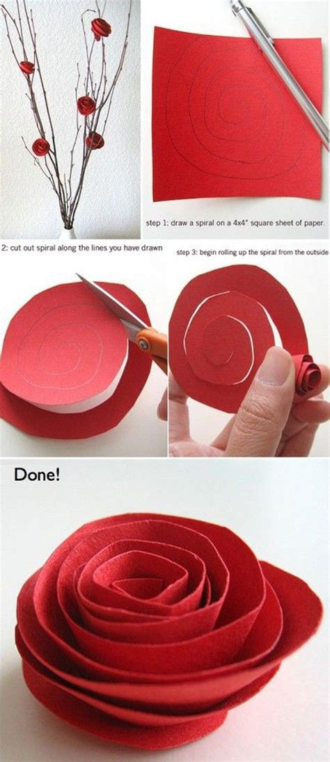 diy paper flower crafts 25 best ideas about origami flowers on paper