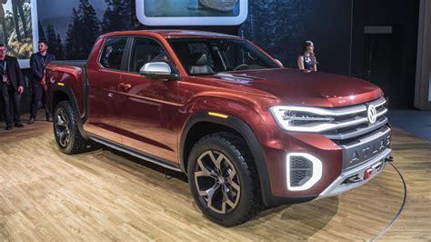 New Volkswagen Truck by Volkswagen Reveals Atlas Tanoak Truck Concept