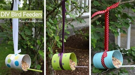 recycled craft projects for adults handmade bird feeders recycling clutter 12 recycled