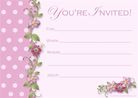 template for invitation baby shower printable kits