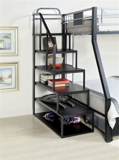 metal bunk beds with storage 24 designs of bunk beds with steps these